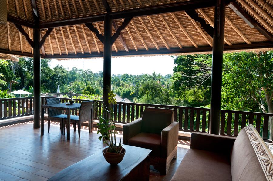 Dedari Villa Type B - Verandah View