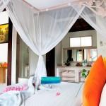 Dedari Villa bedroom view