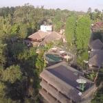 Aerial View - Ubud Dedari Villas